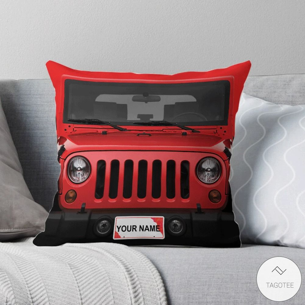 Personalized Jeep Pillow2