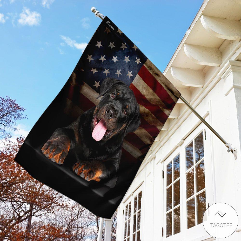 Rottweiler American Garden Flagx