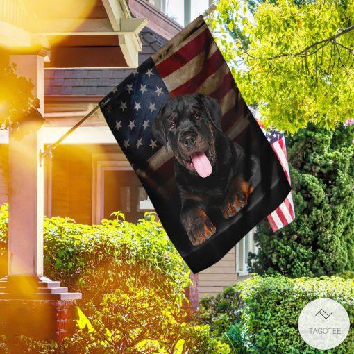 Rottweiler American Garden Flagz