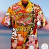 Wanna Rub My Meat Pork Pig Hawaiian shirt
