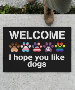 Welcome I hope you like dogs doormatz