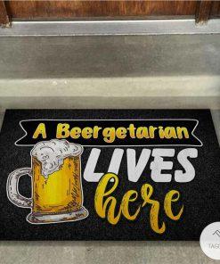 A Beergetarian Lives Here – Beer Doormatx