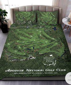 Augusta National Golf Club 3D Quilt Bedding Set