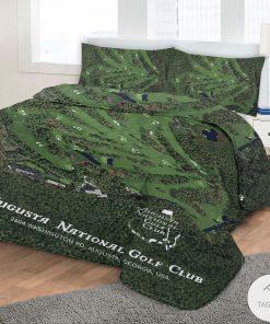 Augusta National Golf Club 3D Quilt Bedding Setz
