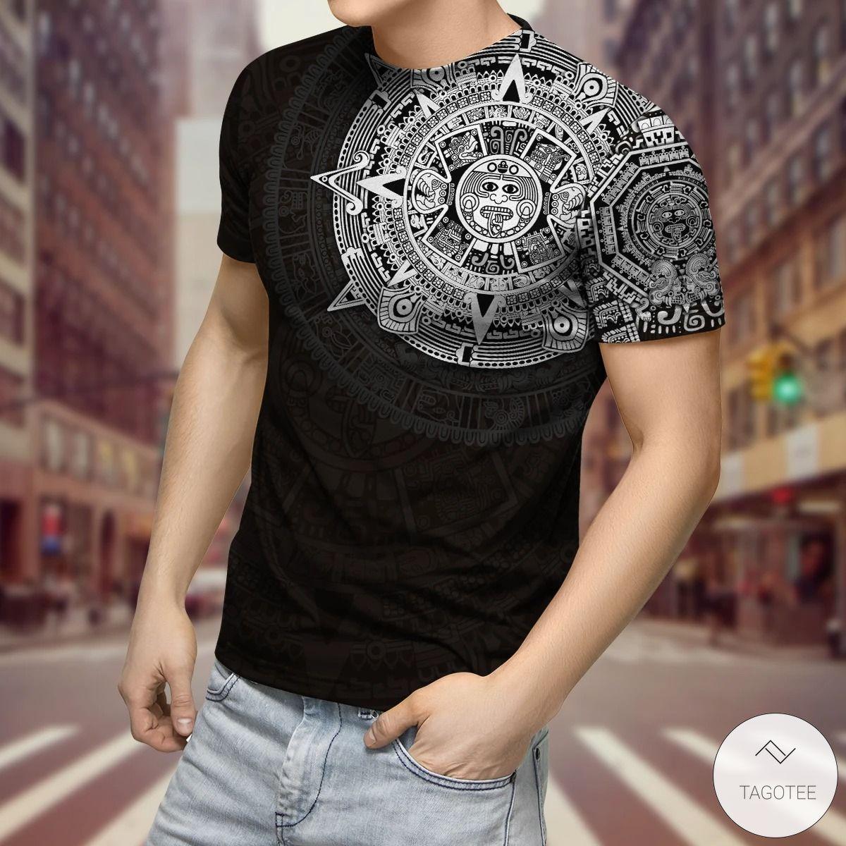 Aztec Viking 3D T-Shirt