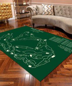 Bandon Dunes Golf Course Map Layout Rugz