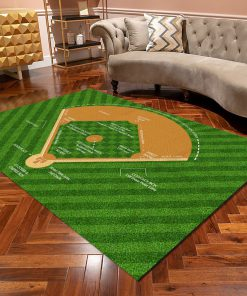 Baseball Diamond Diagram Rugz