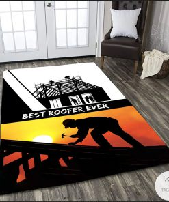 Best Roofer Ever Rug