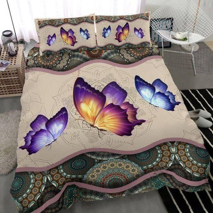 Butterfly Mandala Bedding Set