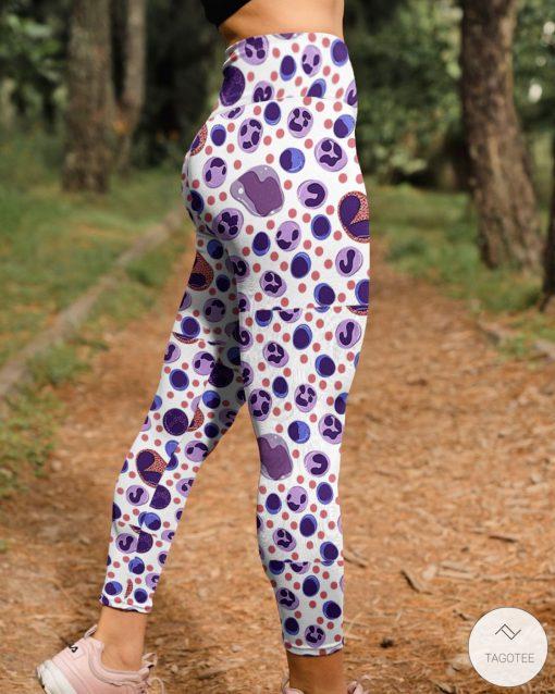 Cells pattern 3D leggingsc