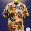 Dachshund Love Hawaiian Shirt