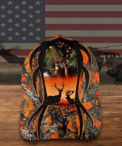 Deer hunting camouflage 3D Cap