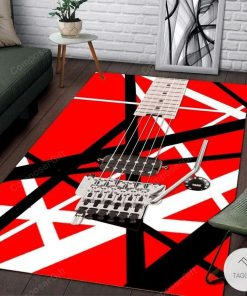 Eddie Van Halen Guitar Pattern Rug