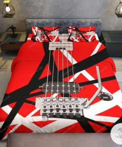 Eddie Van Halen Guitar Pattern Rugc
