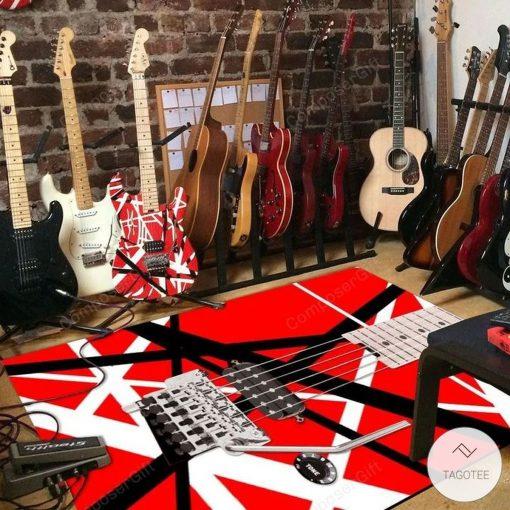 Eddie Van Halen Guitar Pattern Rugz