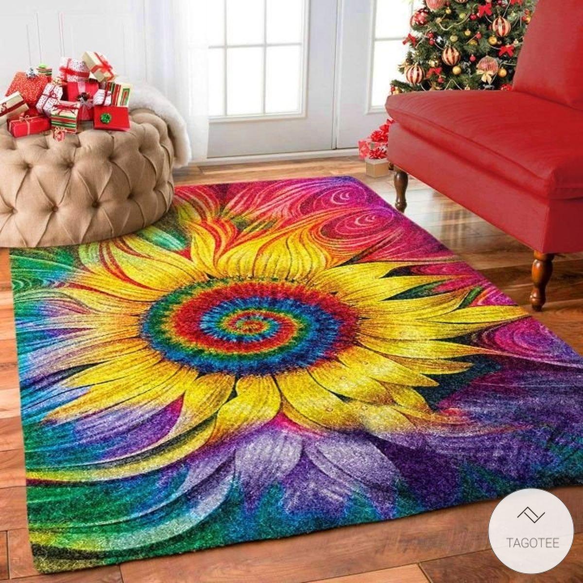 Hippie Sunflower Rug