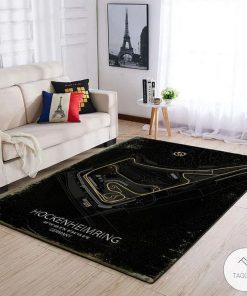 Hockenheimring F1 Circuit Map Rug