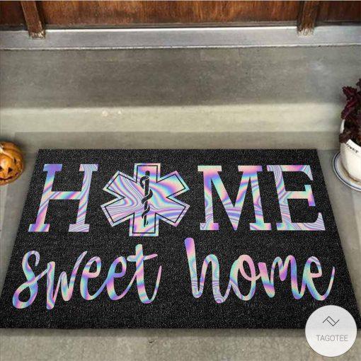 Home Sweet Home – EMT Holographic Doormatz