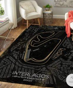 Interlagos F1 Circuit Map Rugz