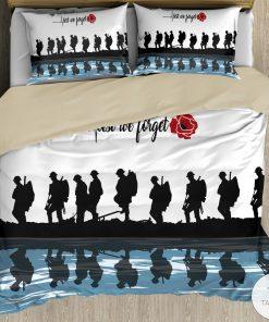 Lest we forget Veteran Bedding Setc