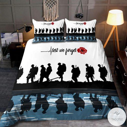 Lest we forget Veteran Bedding Setx