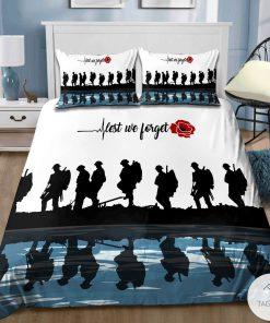 Lest we forget Veteran Bedding Setz