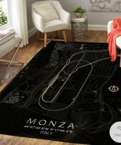 Monza F1 Circuit Map Rugz