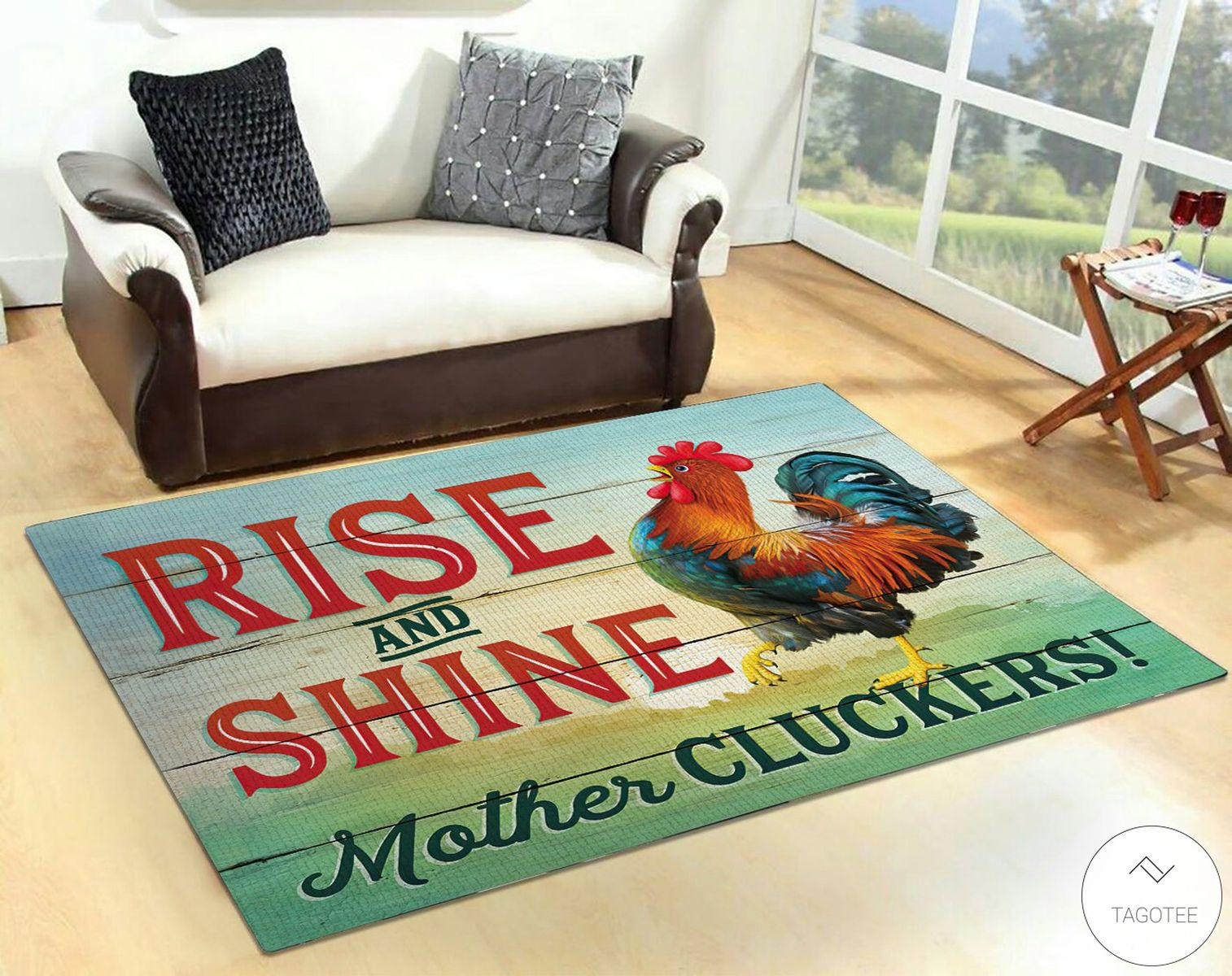 Rinse and shine mother cluckers rugz