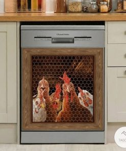Rooster Chicken 3D Dishwasher Cover