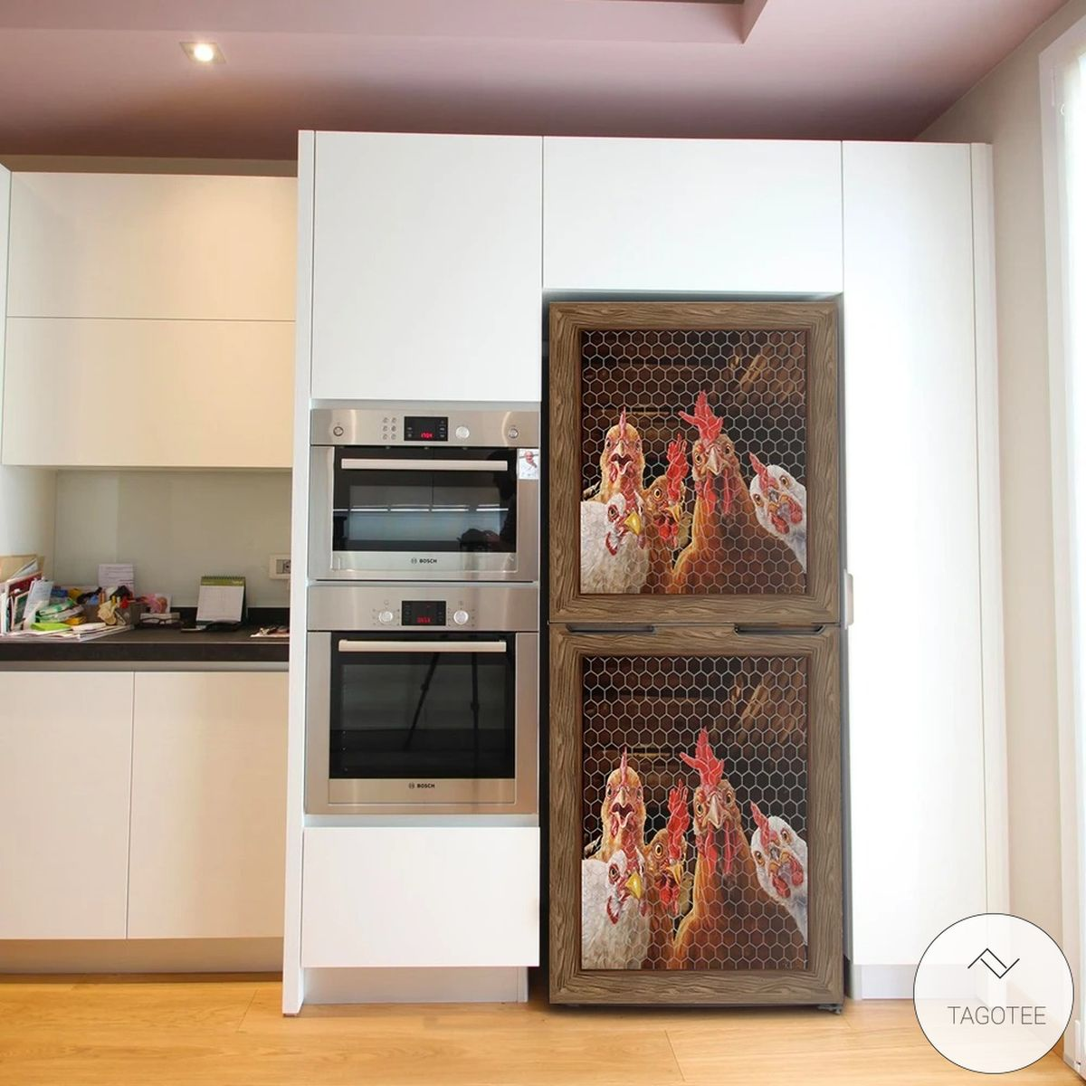 Rooster Chicken 3D Dishwasher Coverz