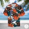 T-Rex Dinosaur Tropical Style Pattern Hawaiian Shirt
