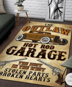 The outlaw hot rod garage The best in the west rugz