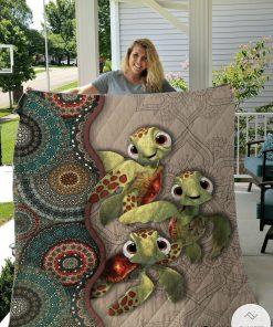 Turtle Mandala Quilt