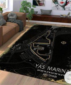 Yas Marina F1 Circuit Map Rugx