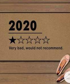 2020 Rating Very Bad Would Not Recommend Doormat