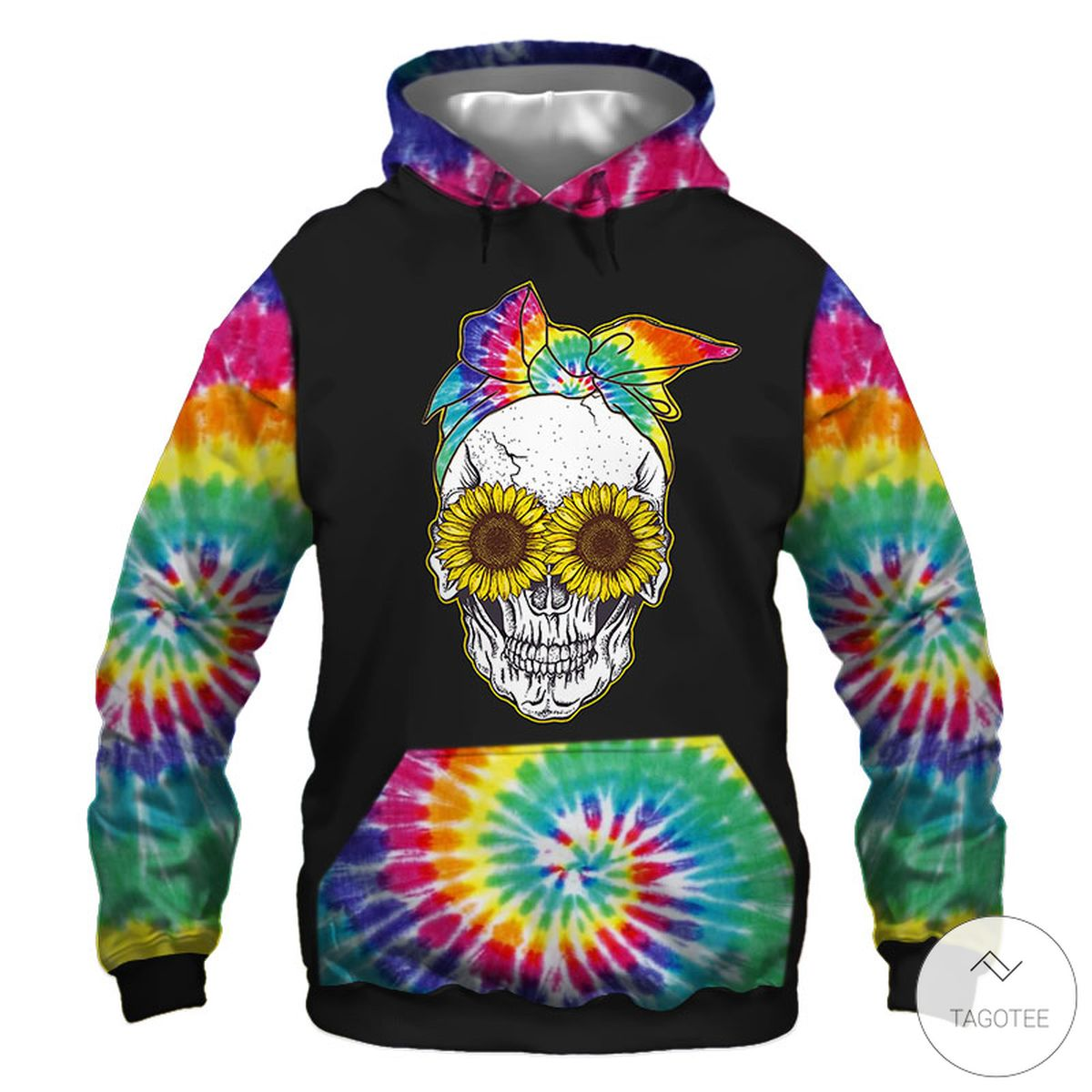 5 things about this Woman A Crazy Mom Hippie Sunflower 3D Hoodie