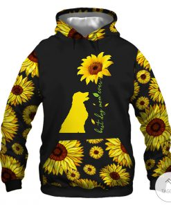 5 things about this Woman- A Dog Mom- Sun Flowers 3D Hoodie