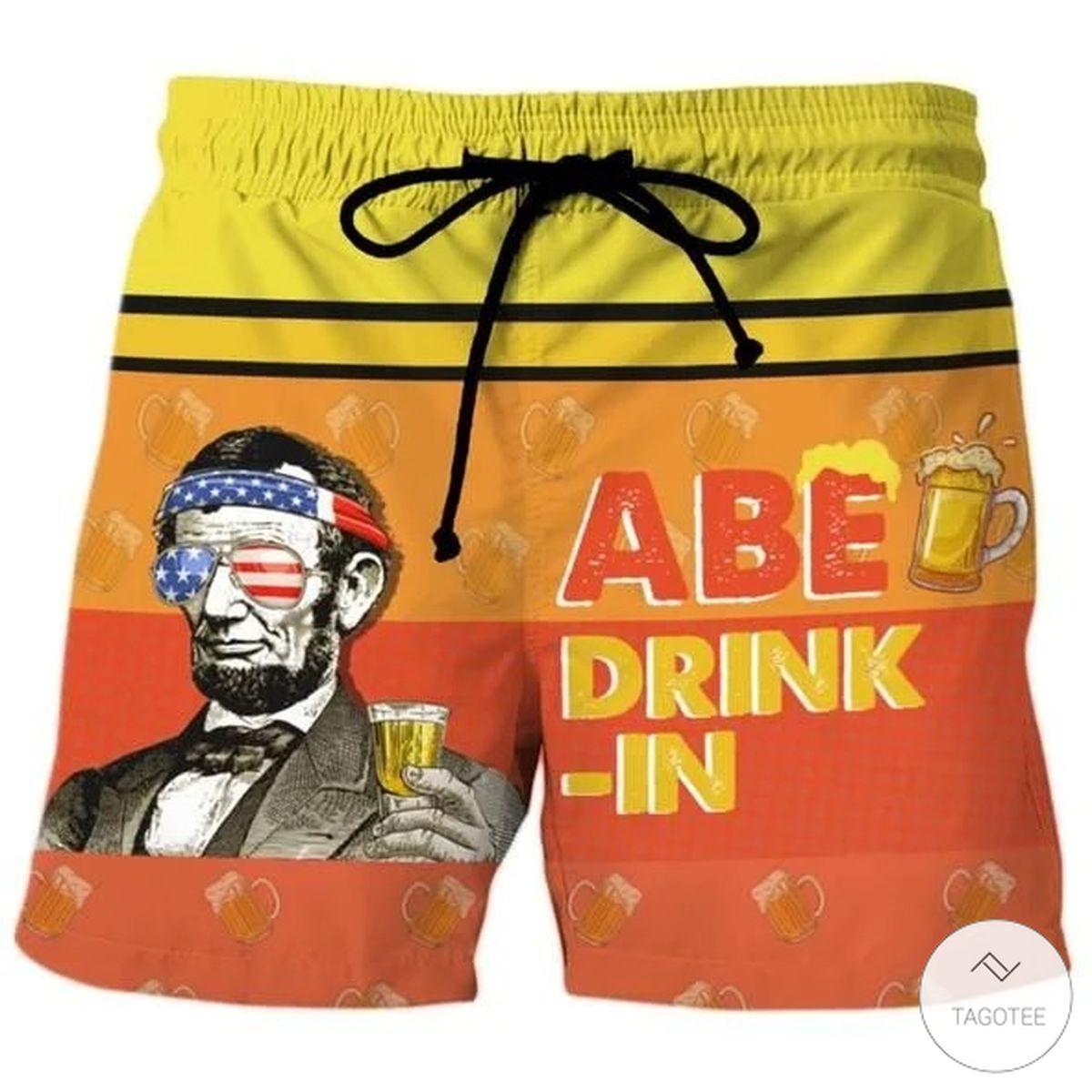 Abe Drinkin Beach Short