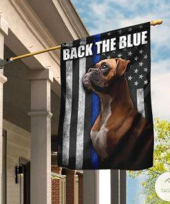 Boxer – Back The Blue Flag