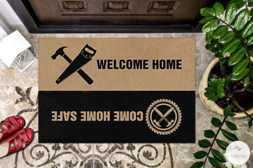 Carpenter Welcome Home Doormat