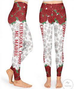 Chingona Como Mi Madre High Waist 3D Leggings