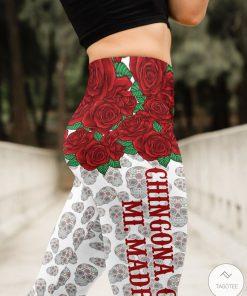 Chingona Como Mi Madre High Waist 3D Leggingsz