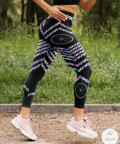 Cycling Holographic High Waist Leggingsc