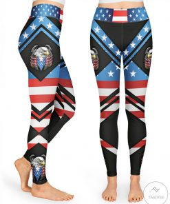 Eagle American Flag Leggings