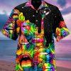 LGBT Lips Hawaiian Shirt