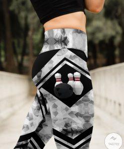 Love Bowling High Waist 3D Leggingsz