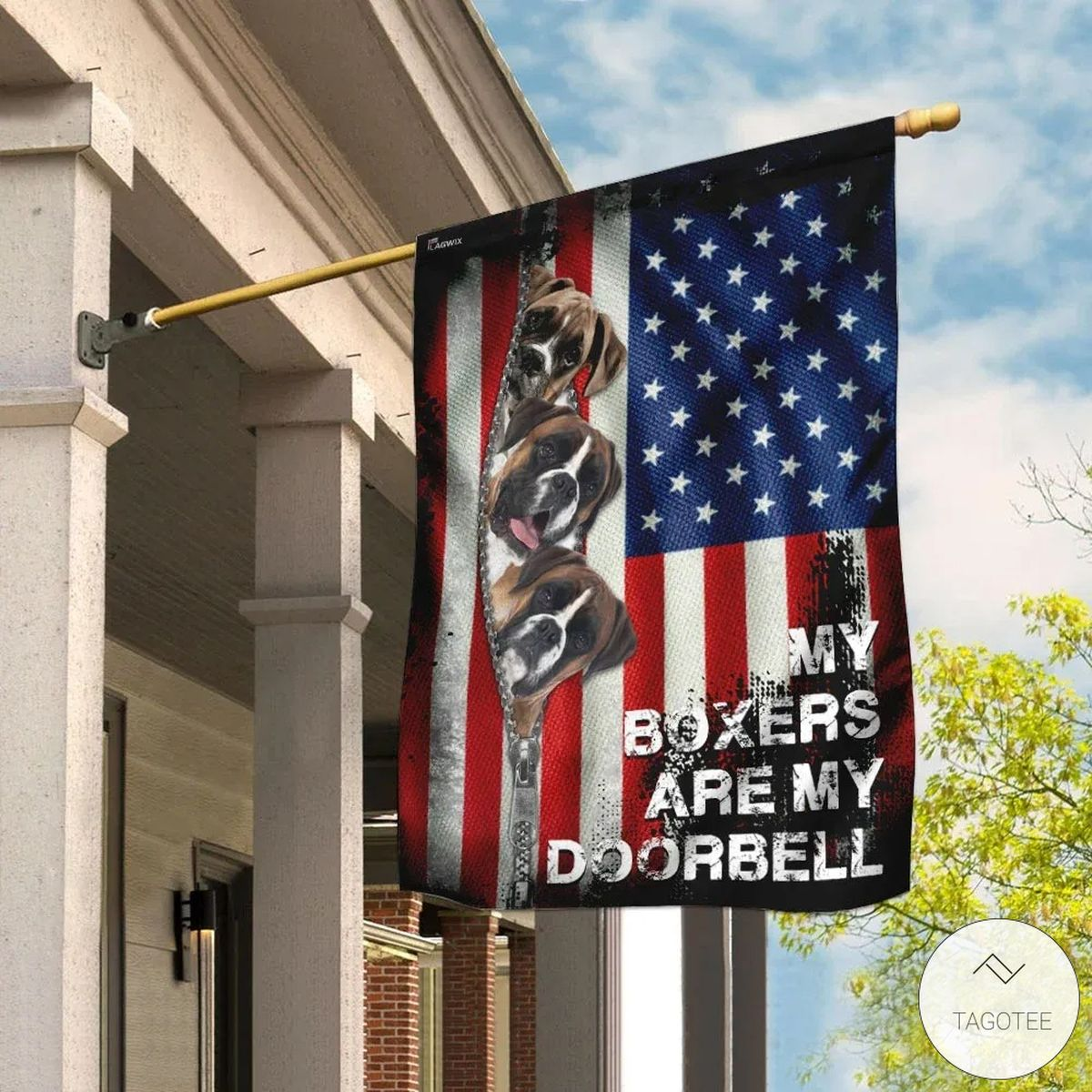 My Boxers Are My Doorbell Flag