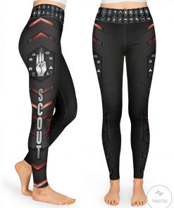Scout Red Pattern 3D Legging