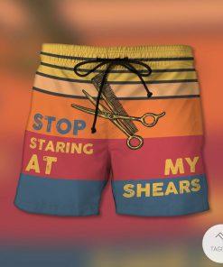 Stop Staring At My Shears Beach Short