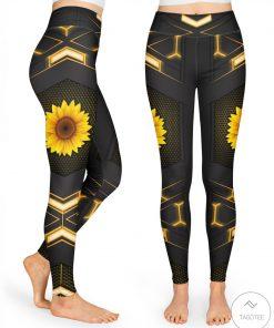 Sunflower High Waist Leggings